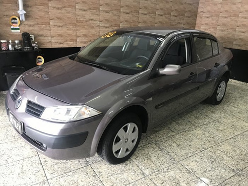 megane sedan 1.6 expression 16v flex 4p manual