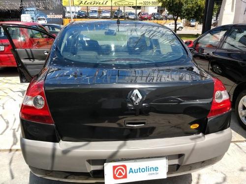 megane sedan 2.0 expression sedan 16v gasolina 4p automático
