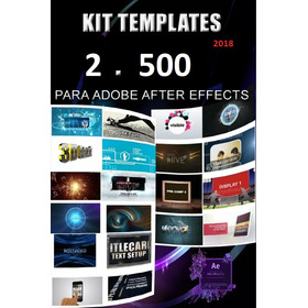 Megapack 2500 Proyectos After Effects Editables + Cinepun