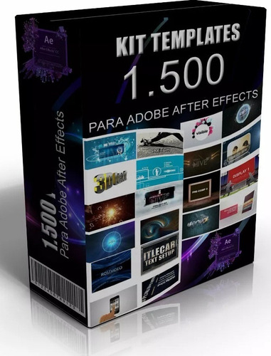 megapack de proyectos 1.500 adobe after effects editables