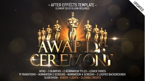 megapack tv proyectos editables after effects + awards 2019