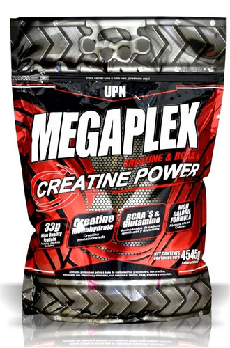 megaplex creatine power 10 libras - complemento nutricional