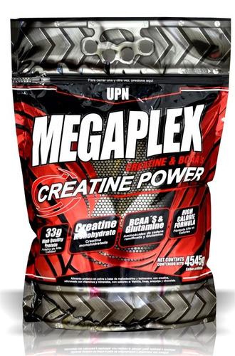 megaplex creatine power x 10 libras + obsequio