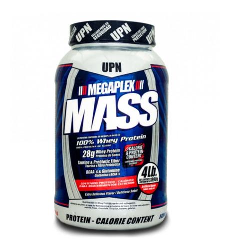megaplex mass 4 lbs aumento masa muscular + camisilla