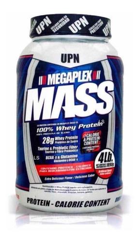 megaplex mass, por 4 libras, aumenta masa muscular y peso