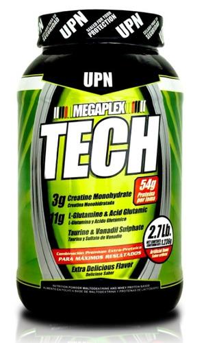 megaplex tech 2.7lbs upn proteína gana músculo sin grasa
