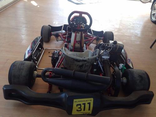 megasaldos go kart karting profesional carrera margay usado