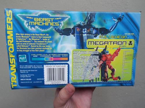 megatron dragon transformers saga beast machines beast wars