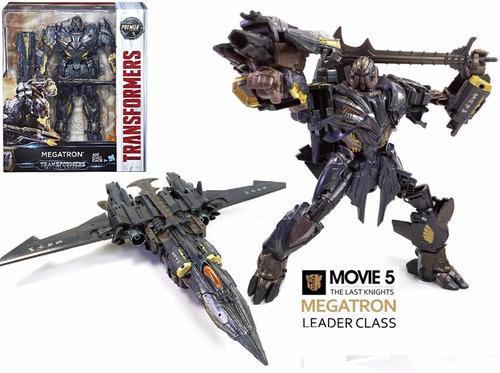megatron leader class 25cm transformers 5 hasbro lacrado!