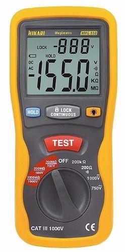 megometro digital hmg-550
