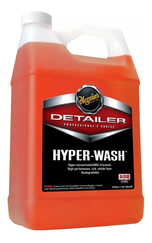 meguiars hyper wash x 3.78 shampoo profesional universo