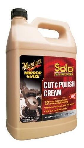 meguiars m8601 espejo glaseado solo cut y pulido crema, 1 ga