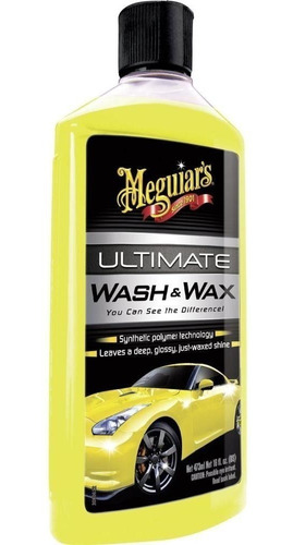 meguiars - ultimate wash & wax (shampoo con cera)