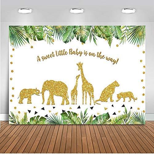 mehofoto safari baby shower telón de fondo fiesta animales s