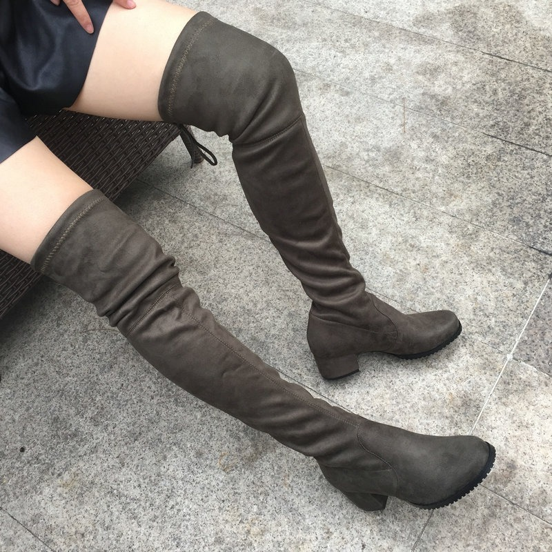 código promocional 39b41 625f2 Mei Fashion / Botas Largas / Moda Coreana