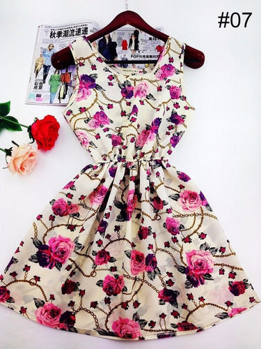 mei fashion / vestido casual/ moda coreana/ verano