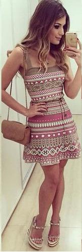 mei fashion / vestido casual/ moda coreana/ verano retro