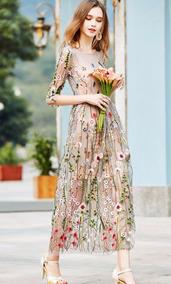 Mei Fashion Vestido Floreado Moda Coreana