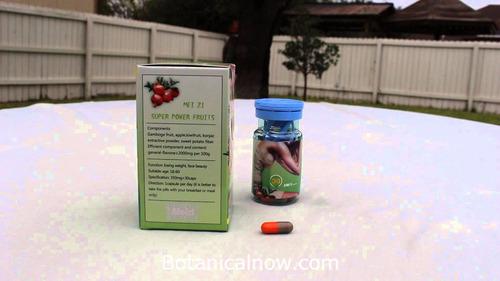 mei zi super power fruits cápsulas para la pérdida de peso
