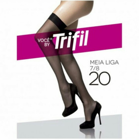 7e34336de Meia 7 8 E Cinta-liga Trifil - Moda Íntima e Lingerie no Mercado ...