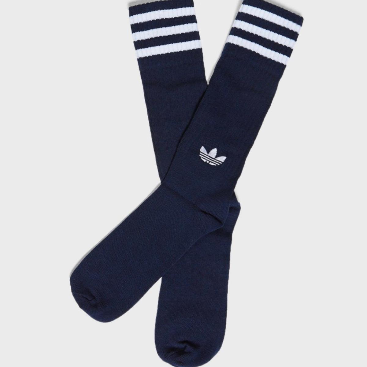 710417770 Características. Marca Adidas  Modelo Solid Crew. Gênero Masculino  Tipo de meias  Cano Alto ...