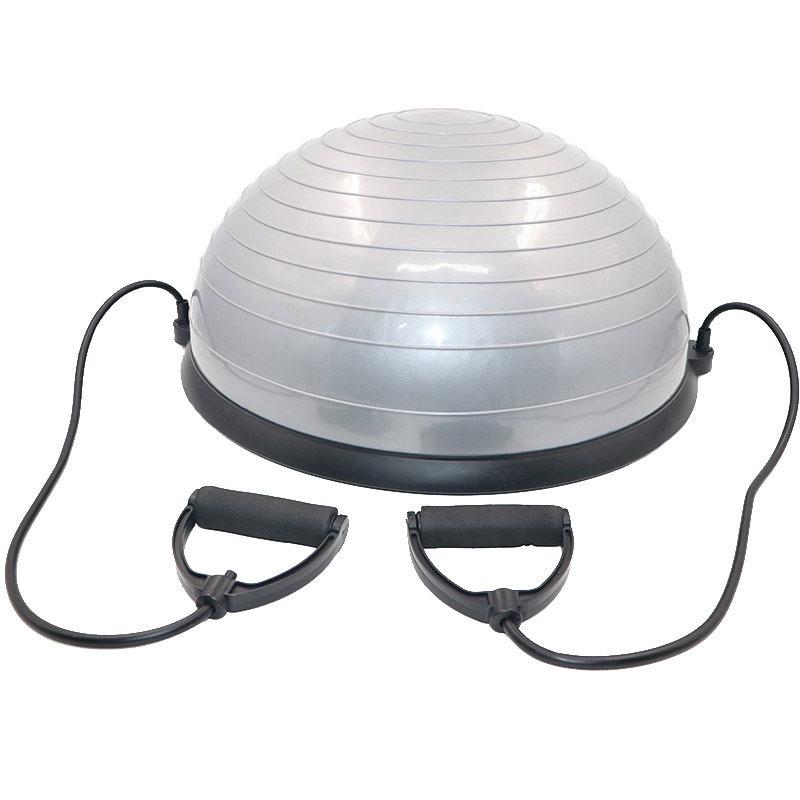 8c4136a7c0 meia bola bosu ball cinza pilates crossfit yoga step bomba. Carregando zoom.