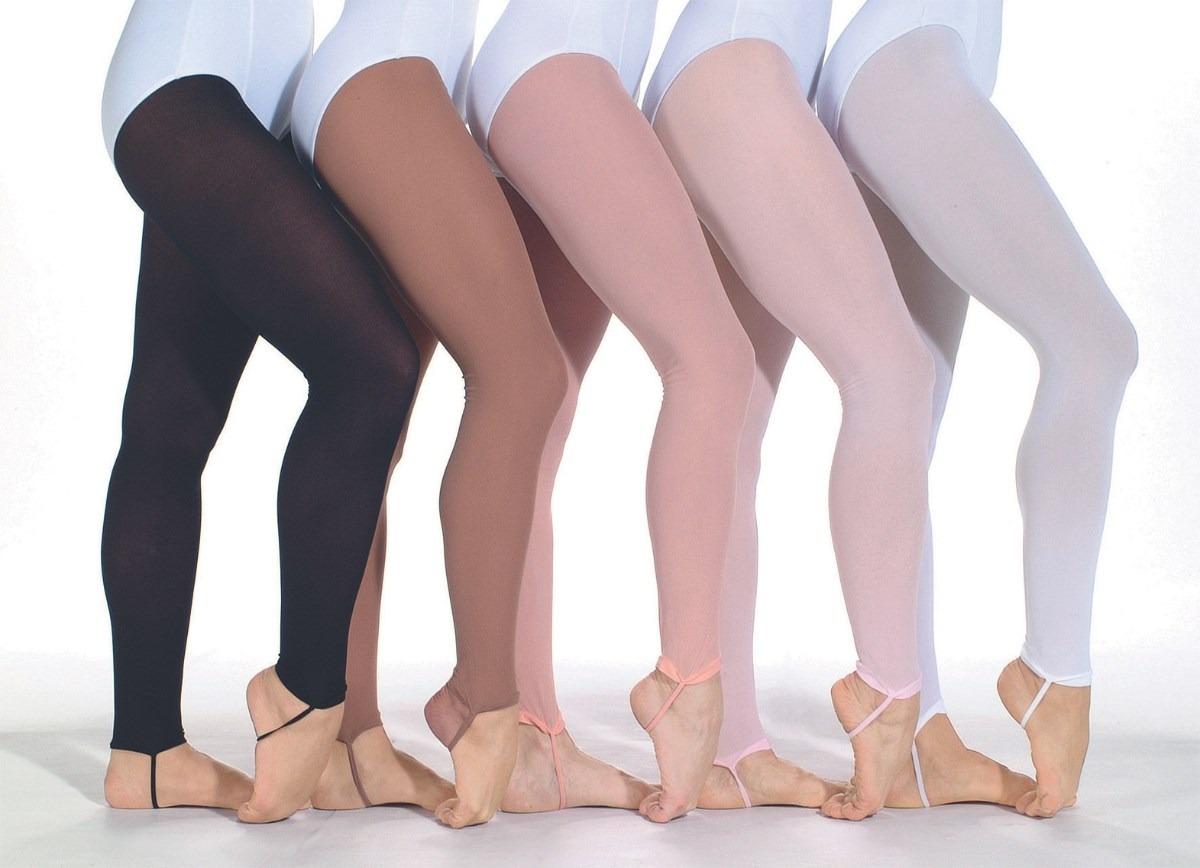 dc0ef299e4 Meia-calça Adulto S  Pé Em Helanca - Só Dança - R  18