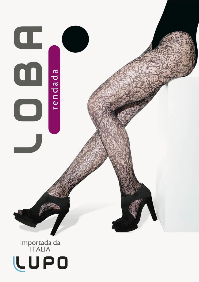 f42b38c33 Meia Calça Arrastão Plus Size Original Lupo - R$ 23,00 em Mercado Livre