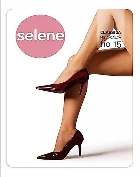 90a8f8745 Meia -calça Básica Fio 15 Selene - R$ 34,50 em Mercado Livre