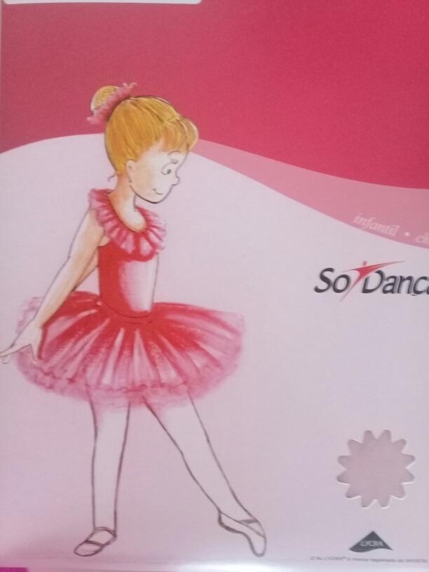 b179418d7 meia calça com pé conversível ballet infantil só dança ts40. Carregando  zoom.