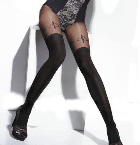 0f9fd18d36 Meia Calça Fashion Preta Tess Sonya Fio 20