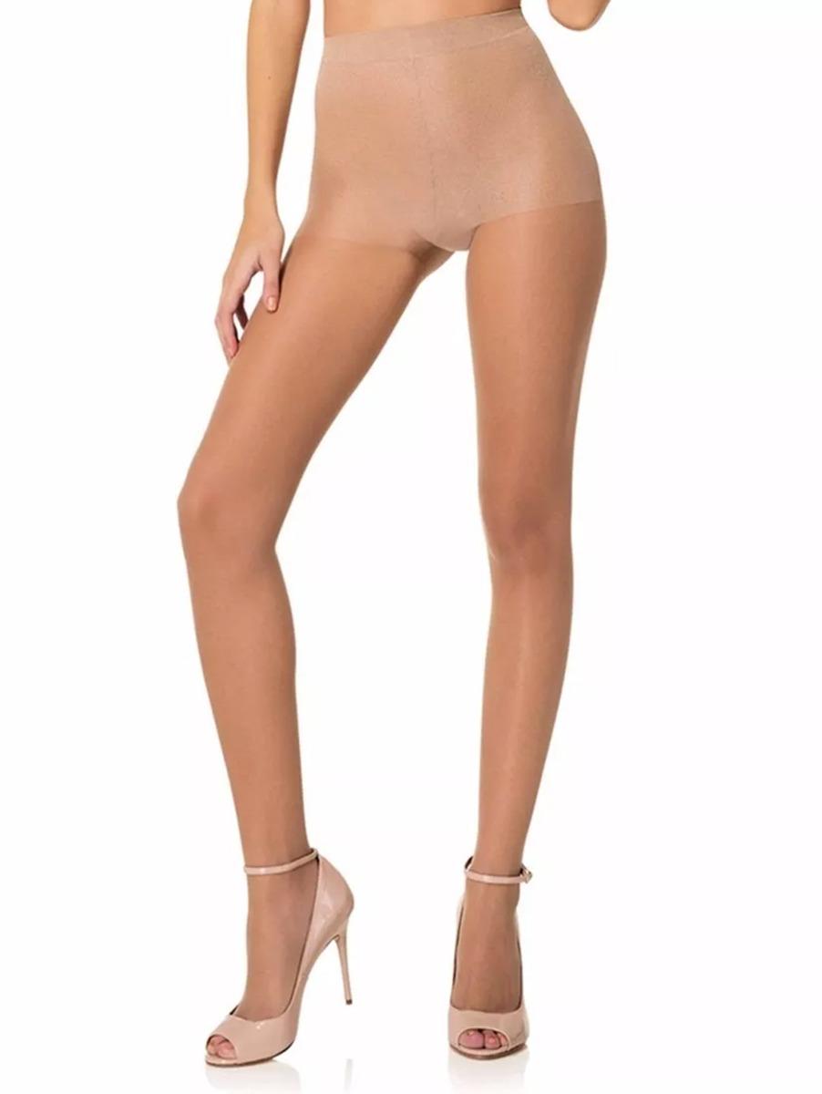 dc536a1fa Meia-calça Feminina Lupo Fio 15 Natural - R  9