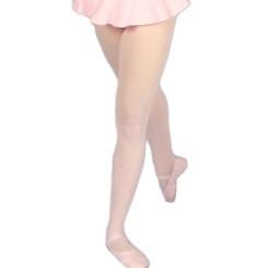 meia calça helanca c/pé infantil ballet ginástica jazz dança