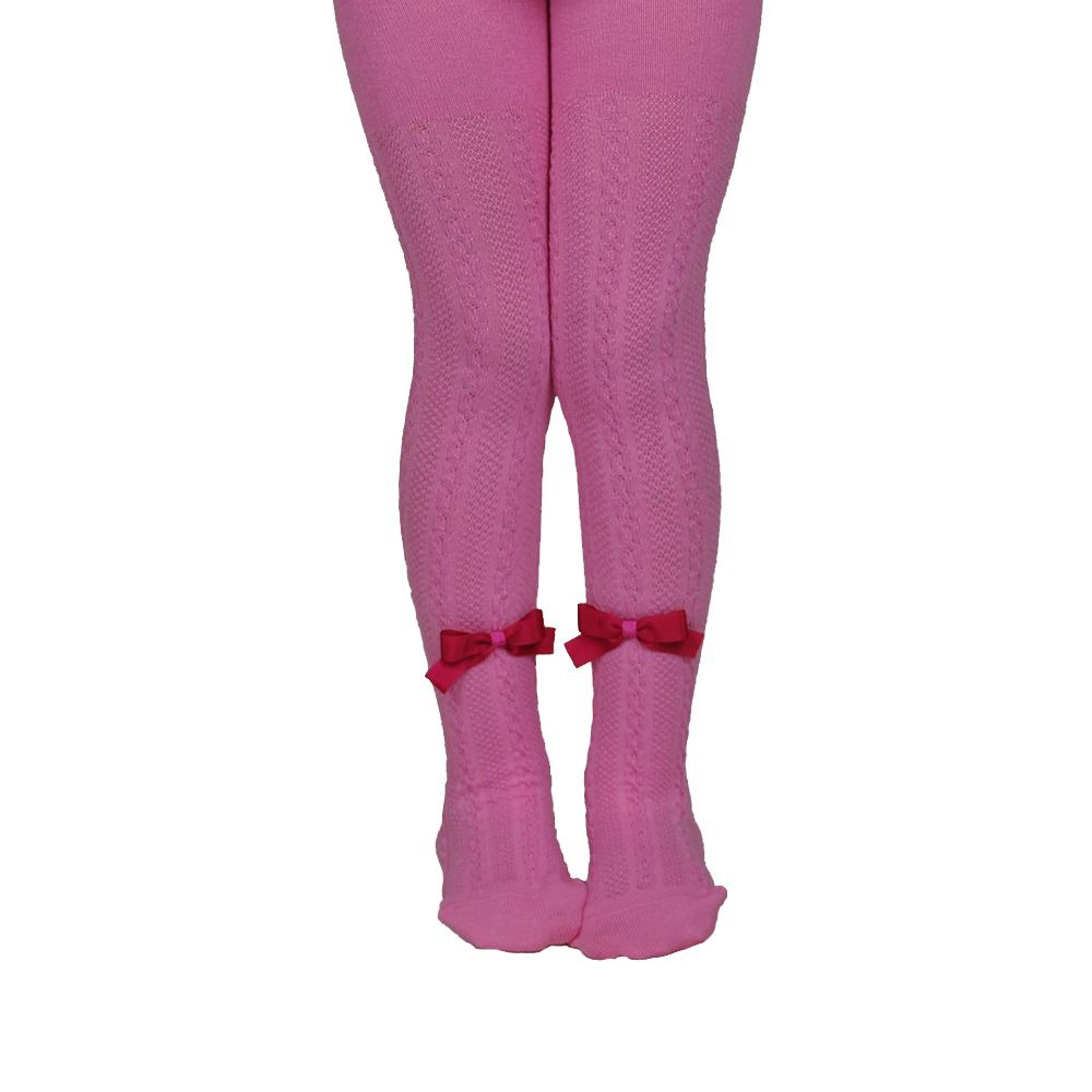 90f2eb2590b0ea Meia Calça Infantil Ania Store Bailarina Rosa