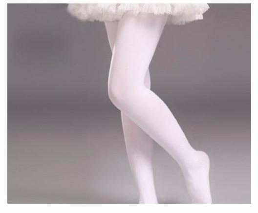 e92279e49 Meia Calça Juvenil Fio 40 Ballet Branca Tamanho Eg A Unidade - R  16 ...
