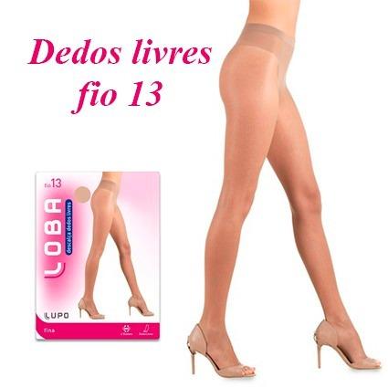 3e53ca379 Meia Calça Loba Dedos Livres Fio 13 - Super Promoção!!! - R  15