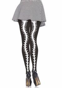 2b44118c0 Meia-calça Opaca Estampa Ossos Esqueleto Caveira Leg Avenue
