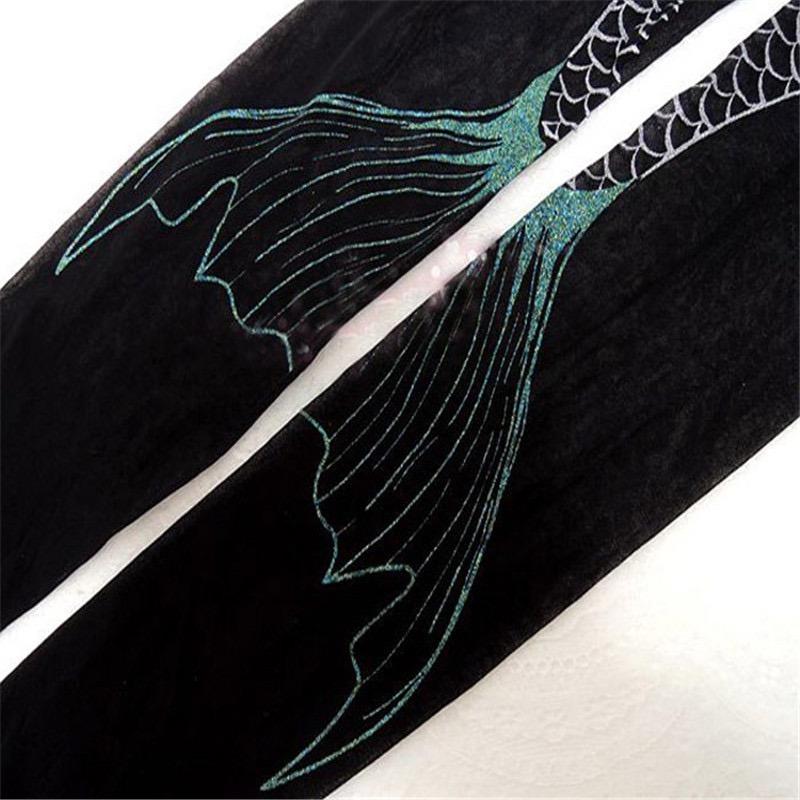 8c43731e1 meia calça pin up retro sereia preta e prata sexy ju uva. Carregando zoom.