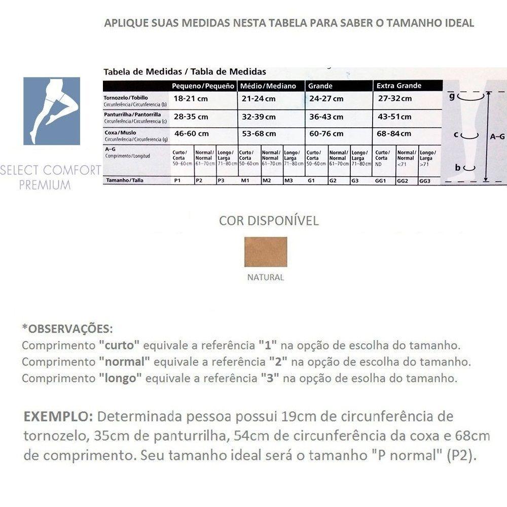 310f62aa7 meia calça sigvaris select comfort 20-30mmhg cor natural p2. Carregando  zoom.