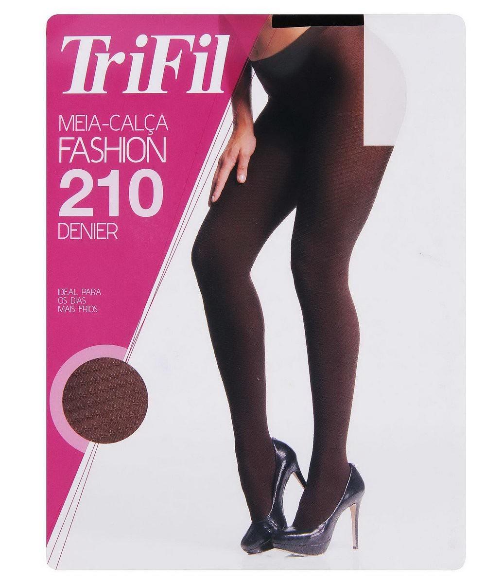 a798ac08b meia-calça trifil fashion 210 marrom cafe - g. Carregando zoom.