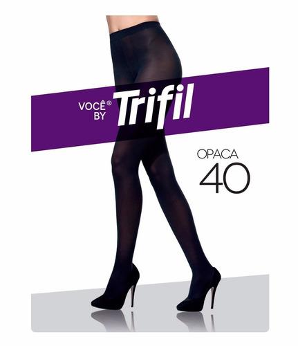 50a223f00 Meia Calça Trifil Opaca Fio 40 - W06345 - Preto - Tam M - R$ 24,90 ...