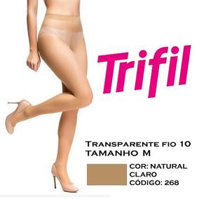 46d5f700f Meia Calça Trifil Natural Claro Pacote no Mercado Livre Brasil