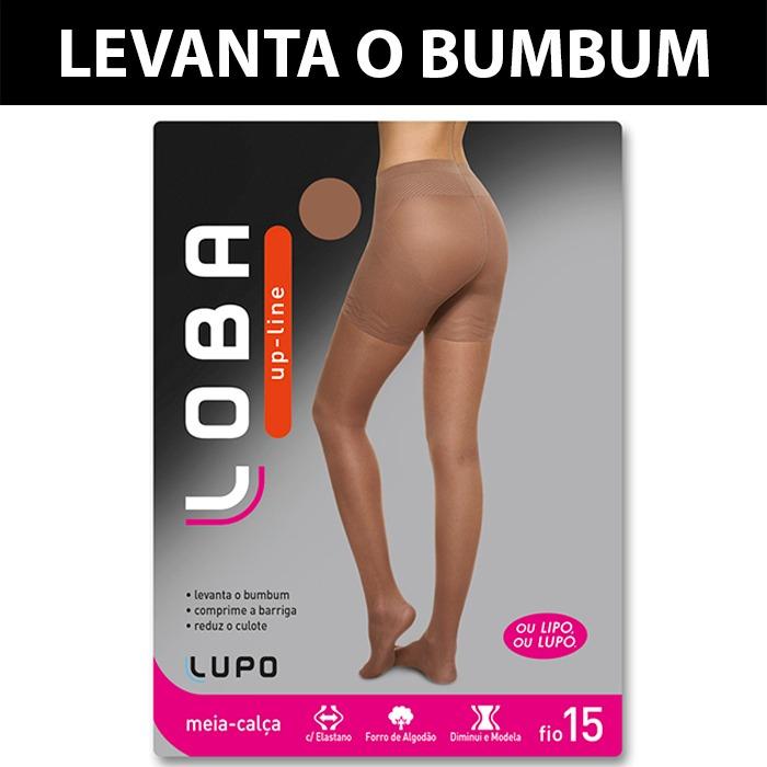 0793ca6d5 Meia Calça Up Line Loba Modeladora Levanta Bumbum 5895-001 - R  83 ...