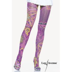 aed7dc803 Meia Calça Fashion Com Estampa De Slut Leg Avenue - Calçados