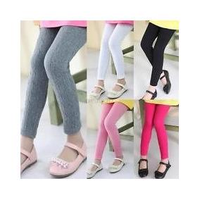 b47871e560f4c Kit 3 Meia Calça Lã Fusô Legging Infantil Térmica Promoção