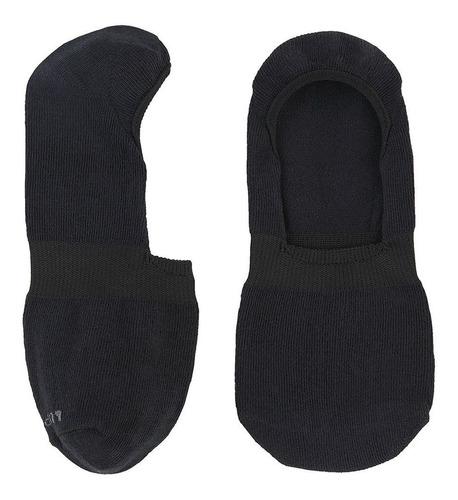 meia lupo sapatilha invisível adulto preta - original