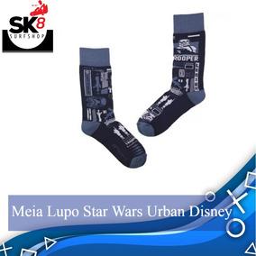 bda3e7bb8 Meia Star Wars - Meias Masculino no Mercado Livre Brasil