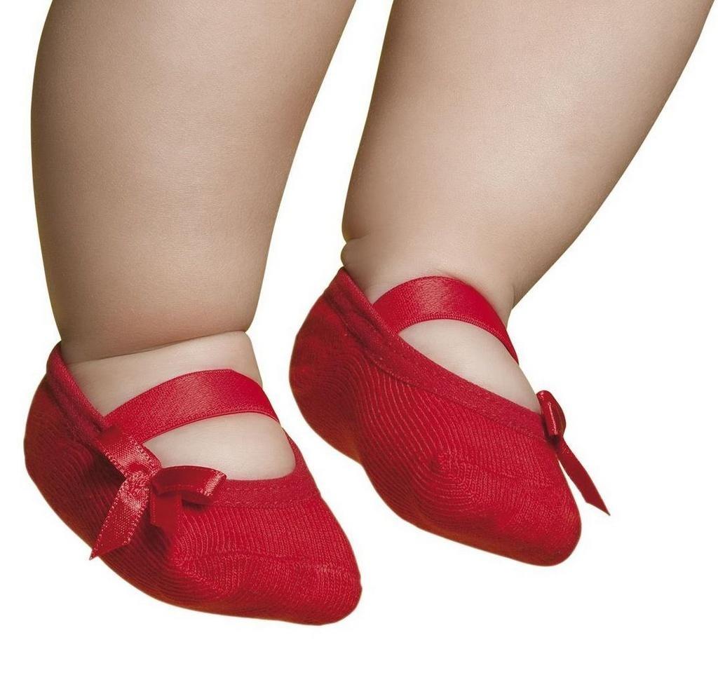 5c5e07584 meia sapatilha bebê vermelha com laço puket (15 ao 18). Carregando zoom.