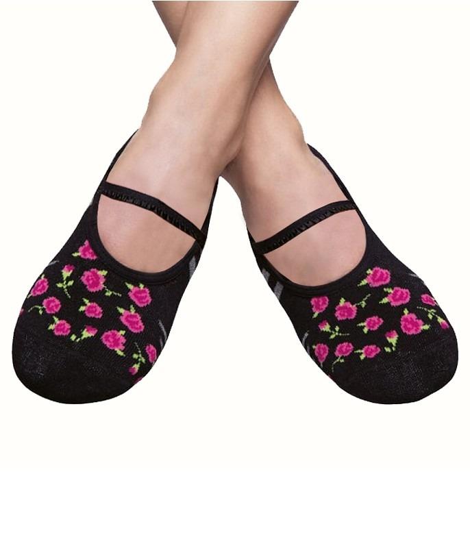bd1f262e7 meia sapatilha floral puket antiderrapante com aroma. Carregando zoom.