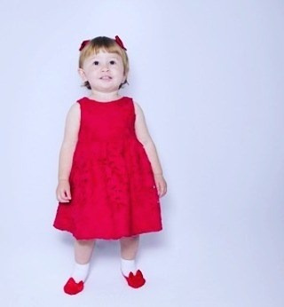 meia sapatinho bebê menina girl letiti estilosa promo